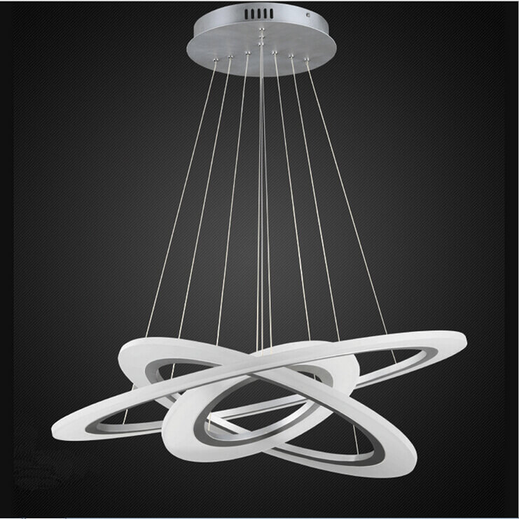 Rings Of Jupiter Modern Led Chandelier Place