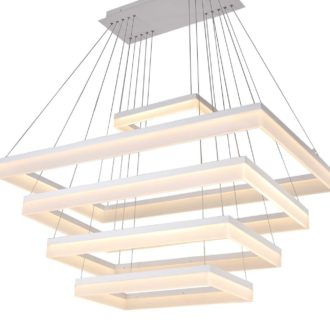 """Levels"" Rectangle Light Fixture"