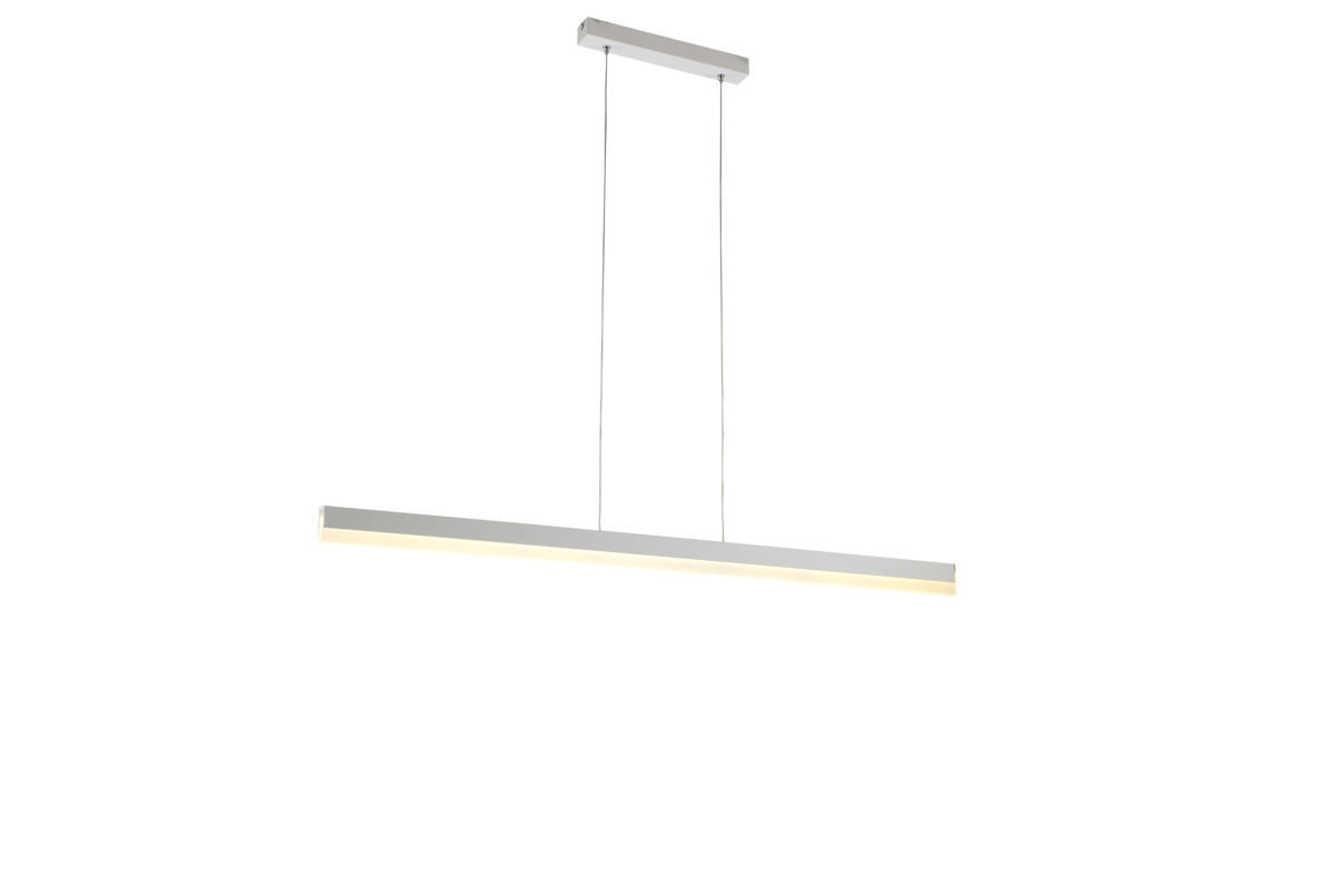 pendant lighting fixture. modern led linear pendant light fixture for home office silver lighting