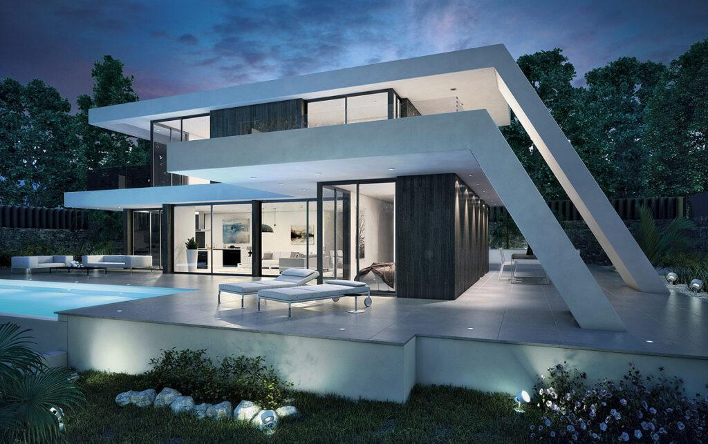 Modern home lighting design guide modern place for Modern house lighting design