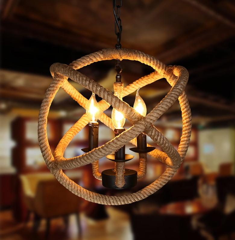 free-shipping-american-art-vintage-pendant-light-minimalist-living-room-lamps-loft-retro-diy-rattan-cafe