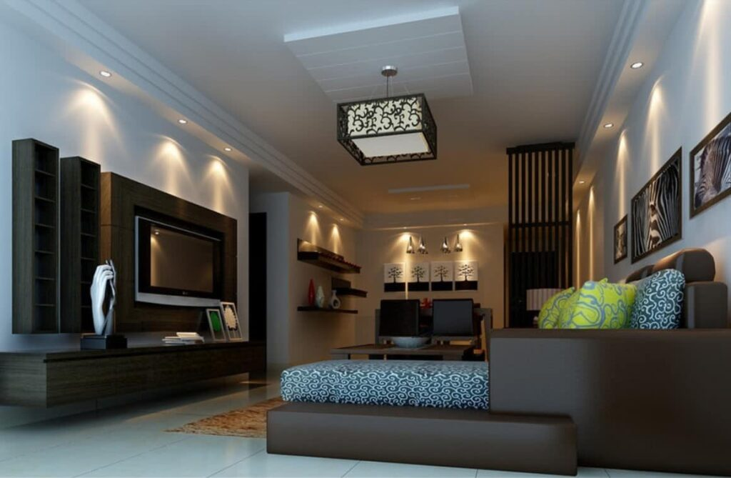 Hanging lights for living room a complete guide modern place for Modern lamps for living room