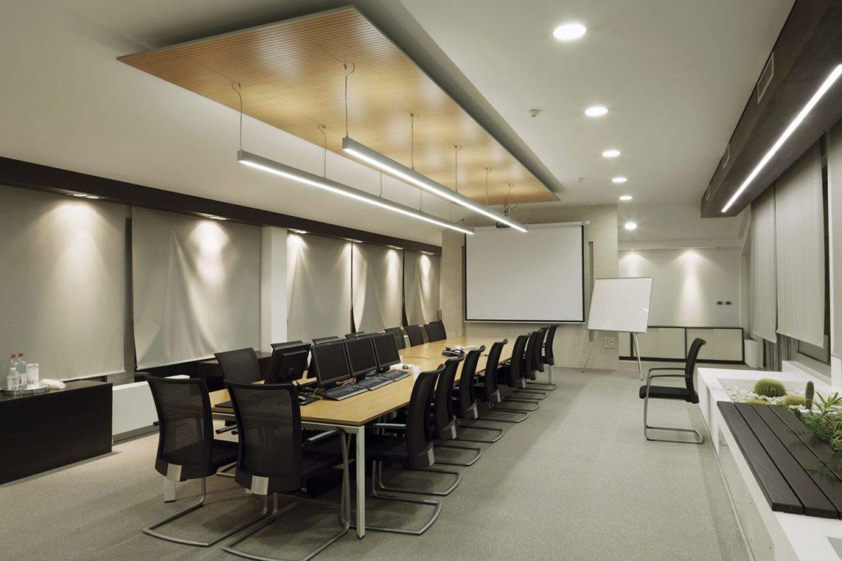 Seamless Linear Office Led Pendant Light Modern Place