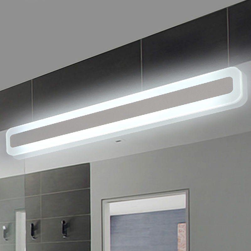 ... NEO Gleam Modern Bathroom Toilet LED Front Mirror  Part 54