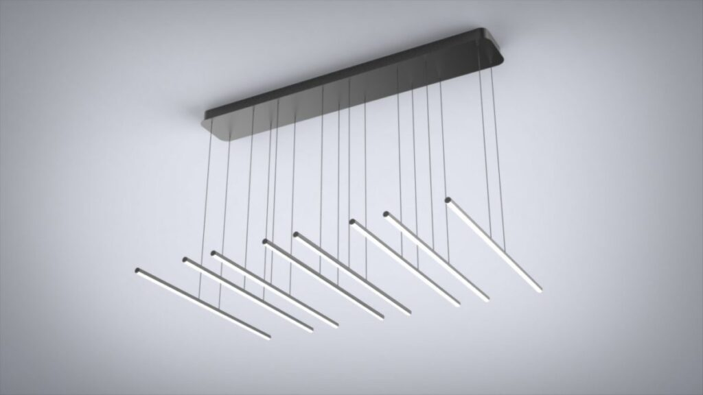 """Parallel"" 8 Pendant Light Fixture"