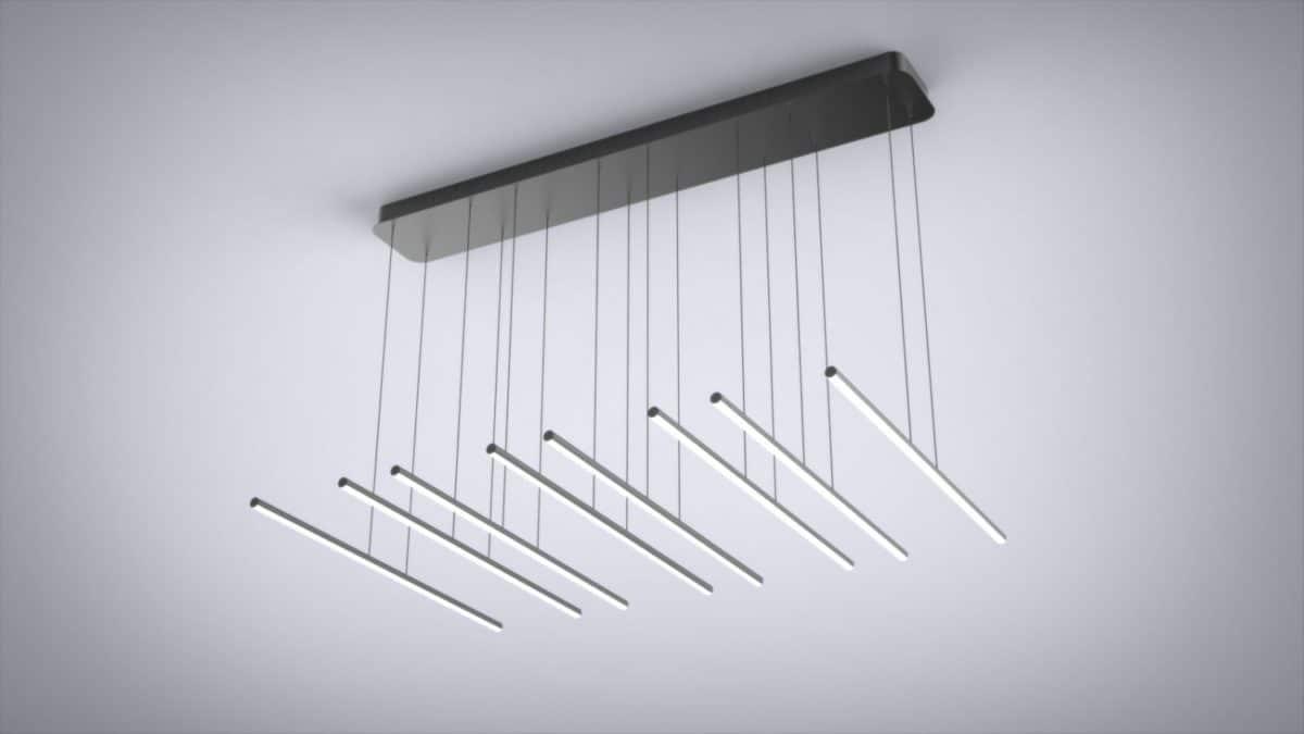 Parallel 8 Pendant Light Fixture Lighting