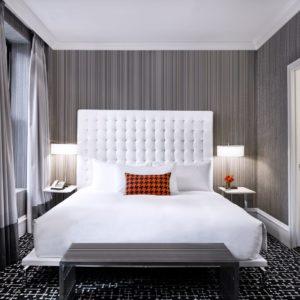 modern hotel guest room