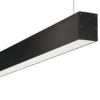 Office 4 Feet Linear Light In Black