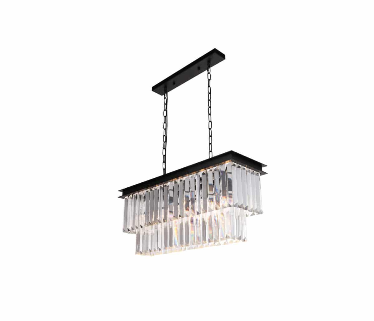Lucent crystal light fixture pendant lighting