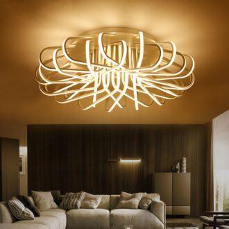 Rectangular Modern Led Ceiling Light Blocks Modern Place