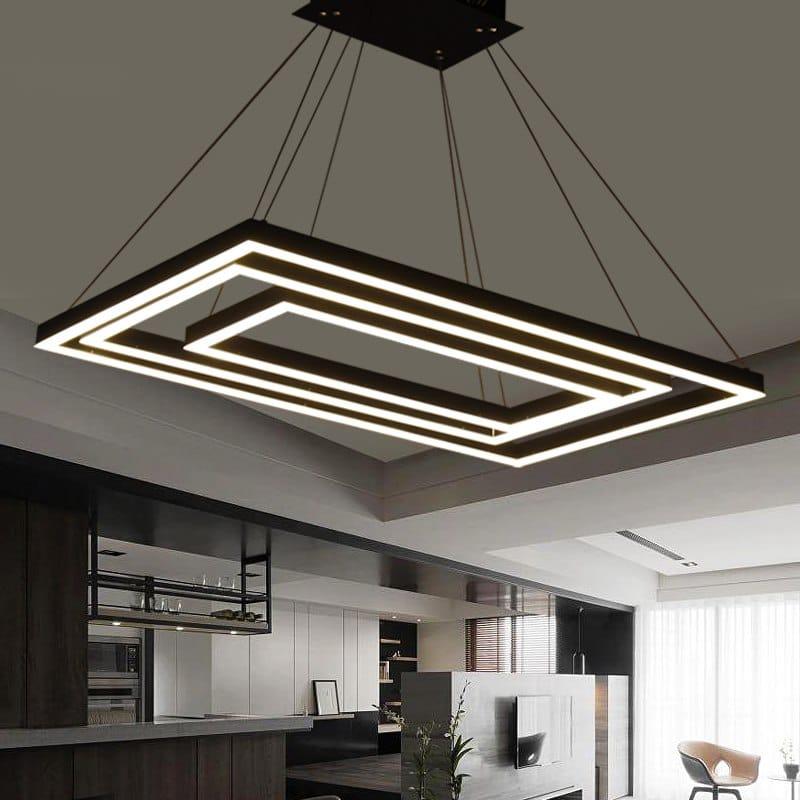Large 5 Level Modern Pendant Light 50
